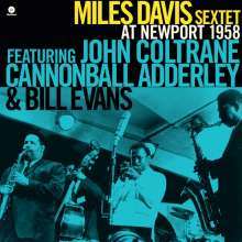 Miles Davis (1926-1991): At Newport 1958 (remastered) (180g) (Limited Edition), LP