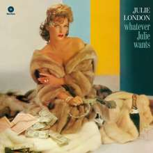 Julie London: Whatever Julie Wants (180g) (Limited-Edition), LP