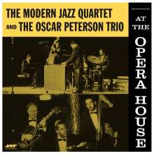 Oscar Peterson & The Modern Jazz Quartet: At The Opera House (remastered) (180g) (Limited-Edition), LP