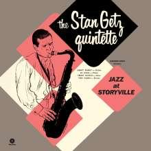 Stan Getz (1927-1991): Jazz At Storyville (remastered) (180g) (Limited-Edition) (+5 Bonustracks), LP