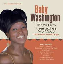 """Justine """"Baby"""" Washington: That's How Heartaches Are Made, CD"""