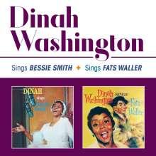 Dinah Washington (1924-1963): Sings Bessie Smith + Sings Fats Waller, CD