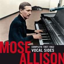 Mose Allison (1927-2016): Complete 1957 - 1962 Vocal Sides +3 Bonus Tracks, 2 CDs