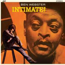 Ben Webster (1909-1973): Intimate! (remastered) (180g) (Limited-Edition), LP