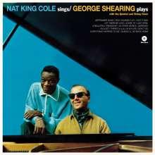 Nat King Cole & George Shearing: Nat King Cole Sings / George Shearing Plays (remastered) (180g) (Limited Edition) +2 Bonustracks, LP
