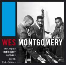 Wes Montgomery (1925-1968): The Complete Montgomery Brothers Quartet Studio Sessions, 3 CDs