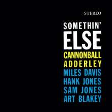 Cannonball Adderley (1928-1975): Somethin' Else (180g) (Limited-Edition) (Colored Vinyl) (+1 Bonustrack), LP