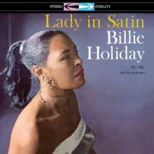 Billie Holiday (1915-1959): Lady In Satin (180g) (Limited-Edition) (Blue Vinyl), LP