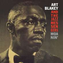 Art Blakey (1919-1990): Moanin' (180g) (Limited-Edition) (Red Vinyl), LP