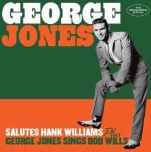 George Jones (1931-2013): Salutes Hank Williams / George Jones Sings Bob Wills, CD