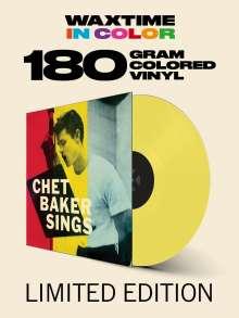 Chet Baker (1929-1988): Sings (180g) (Limited-Edition) (Yellow Vinyl), LP