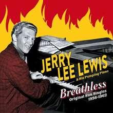 Jerry Lee Lewis: Breathless: Original Sun Singles 1956 - 1962 + Bonus, 2 CDs