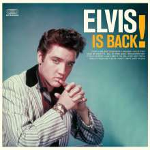 Elvis Presley (1935-1977): Elvis Is Back! (180g) (Limited-Edition) (Solid Orange Vinyl) (+4 Bonustracks), LP