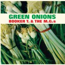Booker T. & The MGs: Green Onions (180g) (Limited-Edition) (Green Vinyl) (+2 Bonustracks), LP
