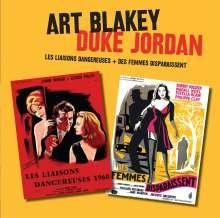Art Blakey & Duke Jordan: Filmmusik: Les Liaisons Dangereuses + Des Femmes Disparaissent, 2 CDs