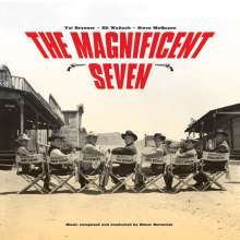Elmer Bernstein (1922-2004): Filmmusik: The Magnificent Seven (180g) (Limited-Edition) (Colored Vinyl), LP