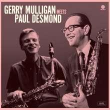 Gerry Mulligan (1927-1996): Meets Paul Desmond (+ 1 Bonustrack) (remastered) (180g) (Limited Edition), LP