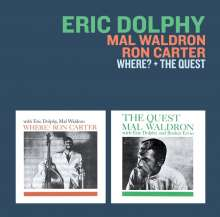 Ron Carter, Eric Dolphy & Mal Waldron: Where? + The Quest, CD