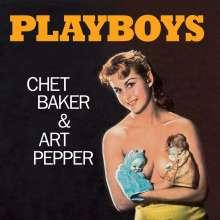 Chet Baker & Art Pepper: Playboys (180g) (Limited-Edition) (Orange Vinyl), LP