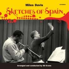 Miles Davis (1926-1991): Sketches Of Spain (180g) (Limited Edition) (Yellow Vinyl) +1 Bonus Track, LP