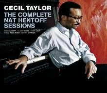 Cecil Taylor (1929-2018): The Complete Nat Hentoff Sessions + 6 Bonus Tracks, 4 CDs