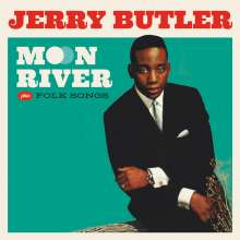 Jerry Butler: Moon River / Folk Songs +4, CD