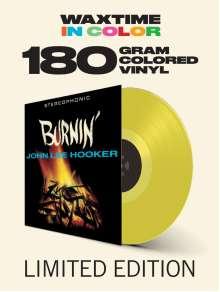 John Lee Hooker: Burnin' (180g) (Limited-Edition) (Translucent Yellow Vinyl) (+2 Bonustracks), LP