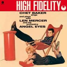 Chet Baker (1929-1988): Angel Eyes (remastered) (180g) (Limited-Edition) (+1 Bonustrack), LP