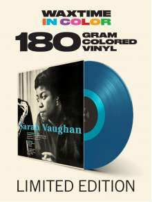 Sarah Vaughan (1924-1990): With Clifford Brown (180g) (Limited-Edition) (Translucent Blue Vinyl), LP