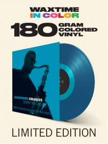 Sonny Rollins (geb. 1930): Saxophone Colossus (180g) (Limited-Edition) (Blue Vinyl), LP