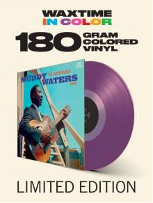 Muddy Waters: At Newport 1960 (180g) (Limited-Edition) (Translucent Purple Vinyl), LP