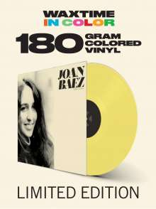 Joan Baez: Joan Baez (180g) (Limited Editon) (Yellow Vinyl) (+2 Bonustracks), LP