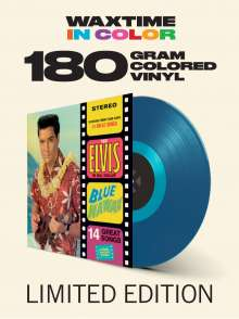 Elvis Presley (1935-1977): Blue Hawaii (180g) (Limited-Edition) (Translucent Blue Vinyl) (+1 Bonustrack), LP