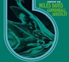 Miles Davis & Cannonball Adderley: Somethin' Else (+ 3 Bonus Tracks), CD