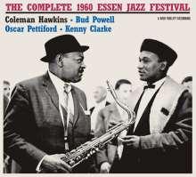 Coleman Hawkins (1904-1969): The Complete 1960 Essen Jazz Festival (+4 Bonus Tracks) (Limited-Edition), CD