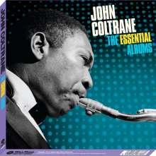 John Coltrane (1926-1967): The Essential Albums: Blue Train / Giant Steps / Ballads (Boxset) (180g) (Limited Edition), 3 LPs