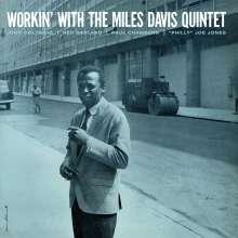 Miles Davis (1926-1991): Workin' With The Miles Davis (180g) (Limited Edition) (Blue Vinyl) + Bonus Track, LP