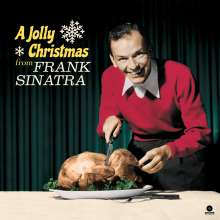 Frank Sinatra (1915-1998): A Jolly Christmas From Frank Sinatra (180g) (Limited Edition) (White Vinyl), LP