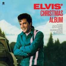 Elvis Presley (1935-1977): Elvis' Christmas Album (180g) (Limited Edition) (White Vinyl) (+2 Bonustracks), LP