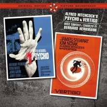 Bernard Herrmann (1911-1975): Filmmusik: Psycho / Vertigo + 2 (Limited Edition), 2 CDs
