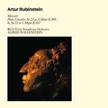 Wolfgang Amadeus Mozart (1756-1791): Klavierkonzerte Nr.21 & 23, CD