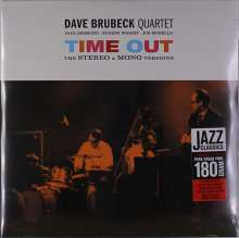 Dave Brubeck (1920-2012): Time Out (remastered) (180g) (Limited-Edition), 2 LPs