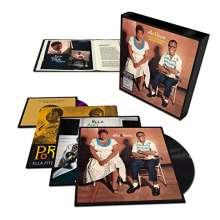 Louis Armstrong & Ella Fitzgerald: Ella & Louis: Complete Studio Master Takes, 5 LPs