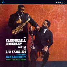 Cannonball Adderley (1928-1975): The Cannonball Adderley Quintet In San Francisco (remastered) (180g) (Limited-Edition), LP