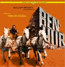 Filmmusik: Ben-Hur (180g) (Limited-Edition), LP