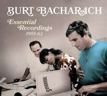 Burt Bacharach: Essential Recordings 1955 - 1962, 3 CDs