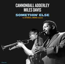 Miles Davis & Cannonball Adderley: Somethin' Else: The Stereo & Mono Versions (remastered) (180g) (Limited-Edition), 2 LPs