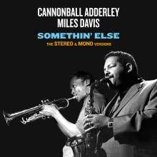 Miles Davis & Cannonball Adderley: Somethin' Else: The Stereo & Mono Versions, 2 CDs