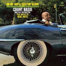 Count Basie (1904-1984): On My Way & Shoutin' Again! (remastered) (180g) (Limited-Edition) (Clear Vinyl) +1 Bonus Track, LP