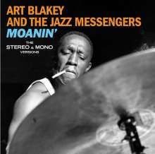 Art Blakey (1919-1990): Moanin': The Stereo & Mono Versions + 6 Bonus Tracks (Limited-Edition), 2 CDs
